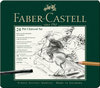 FABER-CASTELL PITT Charcoal Set 24er Metalletui
