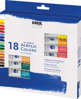 KREUL el Greco Acrylic Set 18 x 12 ml Tuben Set