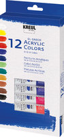 KREUL el Greco Acrylic Set 12 x 12 ml Tuben Set