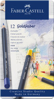 Farbstift Goldfaber 12-Metalletui