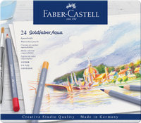 Aquarellstift Goldfaber Aqua 24-Metalletui