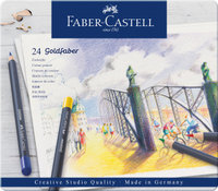 Farbstift Goldfaber 24-Metalletui