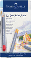 Aquarellstift Goldfaber Aqua 12-Metalletui